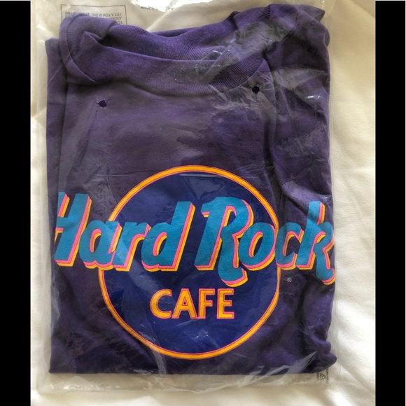 94c838ff Hard Rock Cafe Shirts | Vintage Maui Hanes Beefy Brand New | Poshmark